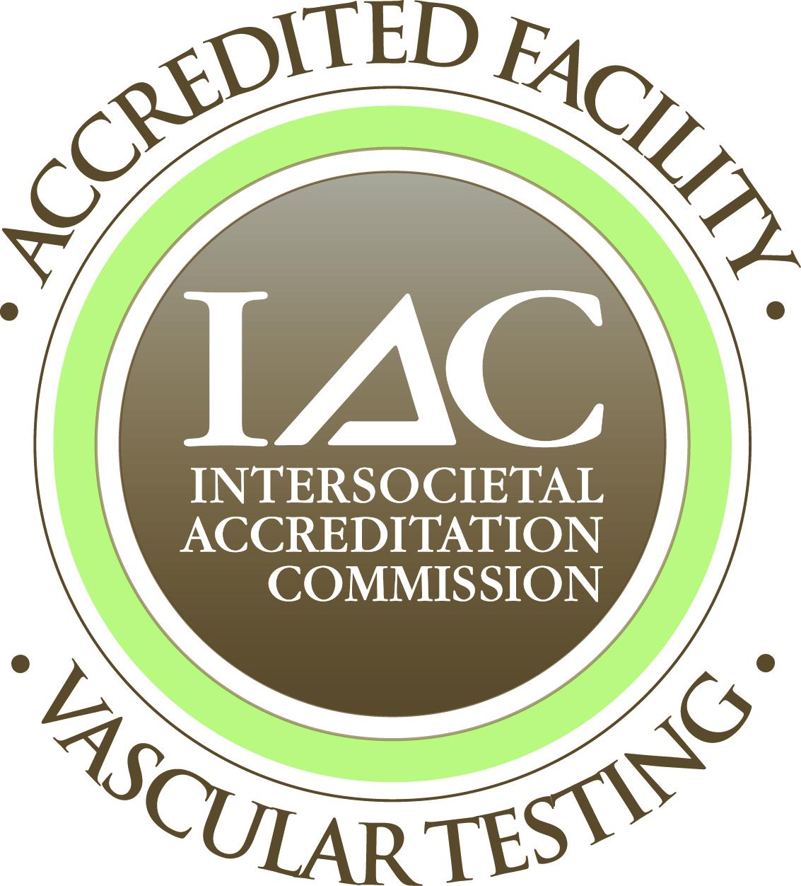 Accredited Facility IAC Vascular Testing