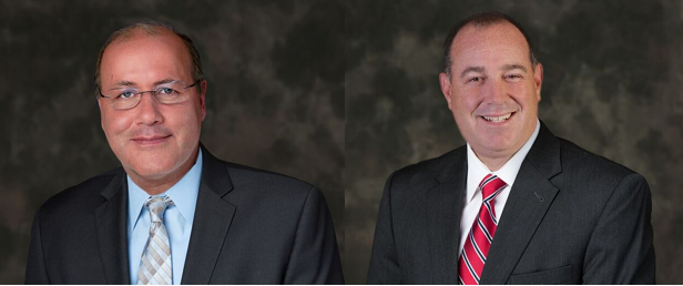 Dr. Goudarzi and Dr. Cahn Headshots