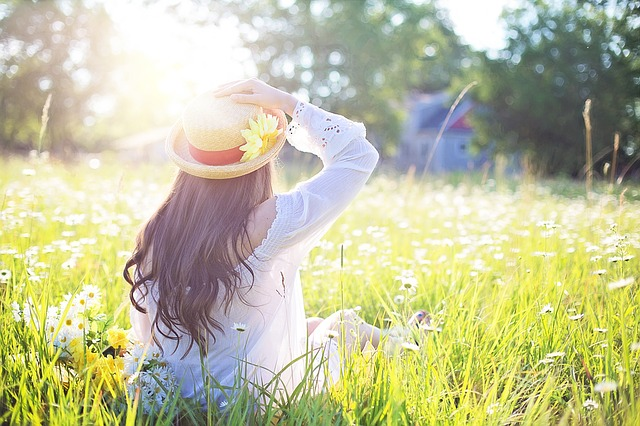 Sunshine providing Vitamin D