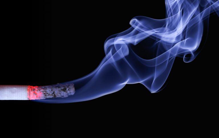 Cigarette Butt Ash