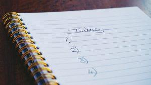 Relax Gratitude List